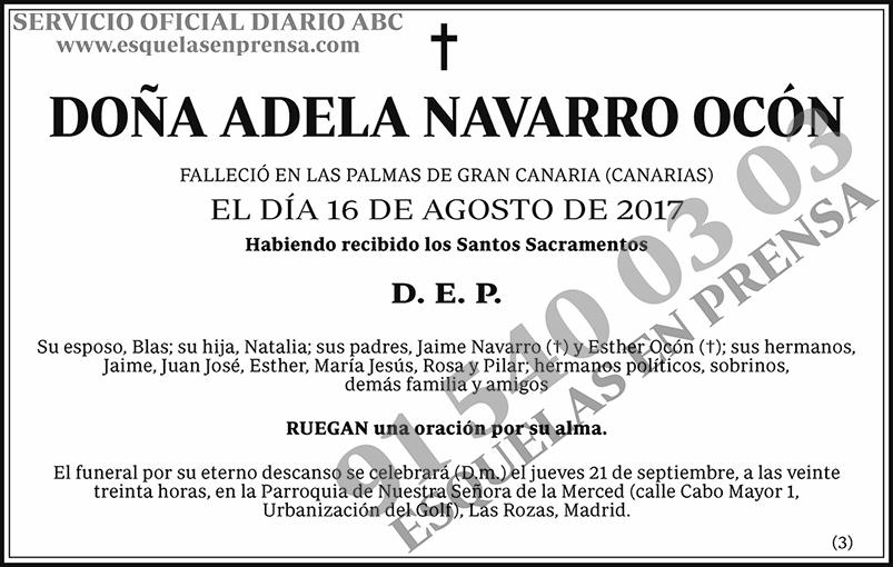 Adela Navarro Ocón